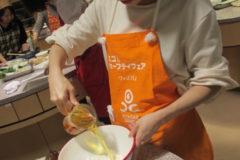 フレアージュ料理教室を開催いたしました。